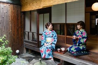 京都駅に着いたらすぐ浴衣に変身できる浴衣レンタルプラン!※着付け代別※