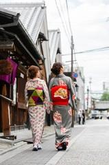 カップル着物プラン!(レンタル、着付け代込)京都駅に着いたらすぐ変身!