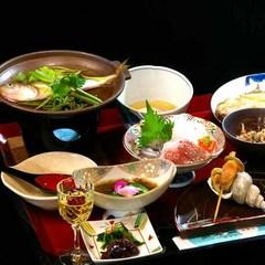 ■関金温泉の魅力を満載☆食と湯の【一泊二食プラン】