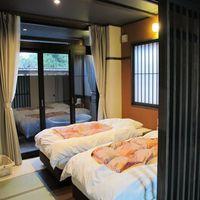 【和室8畳+2ベッド】露天風呂付