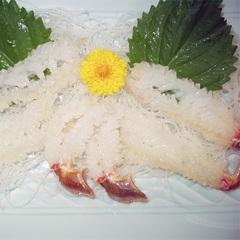 蟹シーズン2食付【2】アツアツ越前蟹[サイズ大]二人で1パイ+焼がに・かに刺し