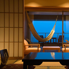 限定日だけ!!ハンモックで潮風を浴びる 展望テラス付客室