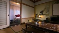 アンティーク客室 和洋室(8畳+ダブルベットルーム)禁煙