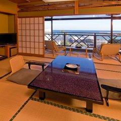 【海側客室】和室12畳以上+広縁付(バス・トイレ付)