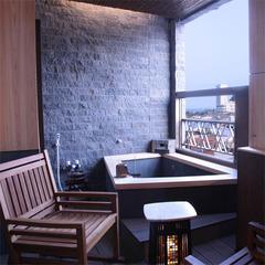 【露天風呂付き客室A】【天然温泉】和室12畳+6畳
