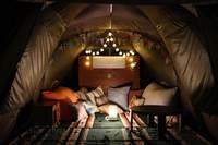 【手ぶらでワクワクドキドキ・キャンプ体験】むりぶしPLUSごろ寝タイプ