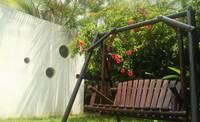 【小さなお子さま連れに嬉しいファミリープラン】ガーデンブランコ付きのお庭も貸切り♪