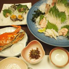 【通常料理】漁師の主人が獲る日間賀の海の幸を豪快に(13品)