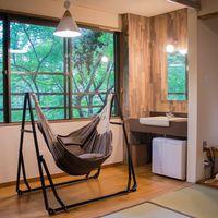 8畳和室(+広縁 2畳) 洗浄機能付きトイレ 洗面台 冷蔵庫