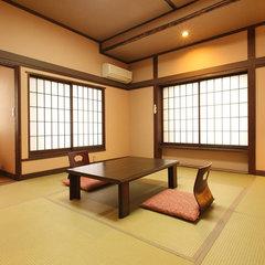 【アジアンテイスト和室10畳・トイレなし】角部屋 禁煙