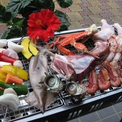 大人気夏休み2連泊プラン★1日目はお庭で磯バーベキュー♪2日目は大きな金目鯛姿煮&舟盛り付ディナー♪