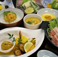 日高の味覚を満喫!!「うにづくし膳」と80種類の朝食バイキング付きプラン