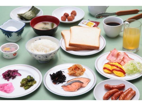 【朝食】6:30〜9:00