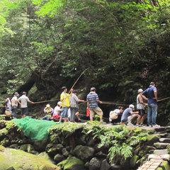 ◇ニジマス釣り体験◇皇子原公園の人気といえばこれ♪驚くほど釣れる?!<素泊>【現金特価】