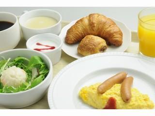 【ご朝食付き】モリモリ食べる朝食プラン