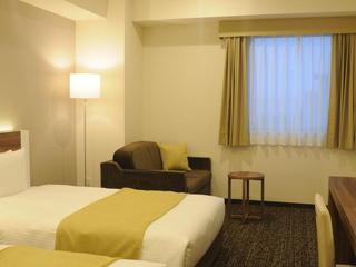 ツインB☆禁煙☆ベッド2台+ソファベッド