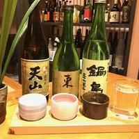 【佐賀3種の日本酒を堪能】利き酒・日本酒付プラン