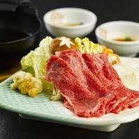 【『米沢牛』に夕食グレードUP】〜とろける舌触り...極上のブランド和牛を味わう〜特製すきやき御膳♪