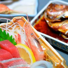 【グレードUP会席】名物・金目鯛の煮付け会席+カニ料理!駿河湾を望む天然温泉/2食付