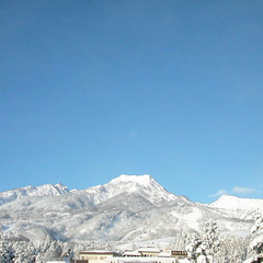 【朝食付/冬】ゆっくりかけ流し温泉とスキーが楽しめる♪