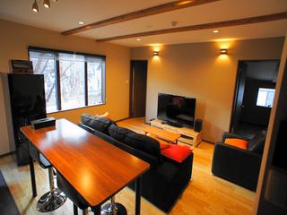 白馬山麓 和田野の森 高級ブティック型コンドミニアム 冷暖房有 BBQ有 2連泊プラン