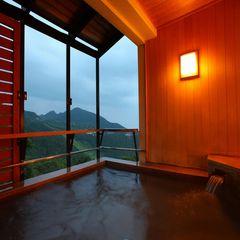 眺望抜群!!絶景の露天風呂付客室で過ごす特別な休日 ◆※禁煙室◆ 【温泉】