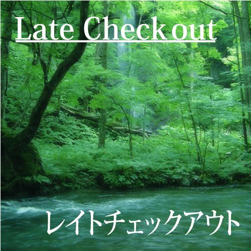 【12時OUT】レイトチェックアウトプラン