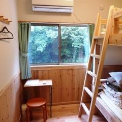 個室ツインルーム、縄文杉ツアーなど特別料金にて提供