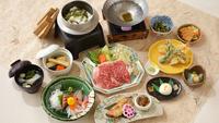 【2食付(Bコース)】〜夕食メインを国産牛にグレードアップ〜旅をちょっと贅沢に