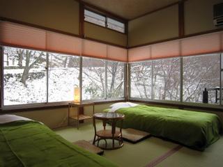 【1号 桜】角部屋ツイン 敷地内全面禁煙