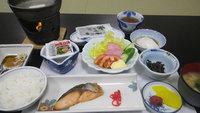 【朝食付】魚沼産コシヒカリ100%を和朝食にご用意。チェックインは24時までOK♪
