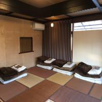 お庭を一望できる2階個室 3〜4名様用  【現金特価】
