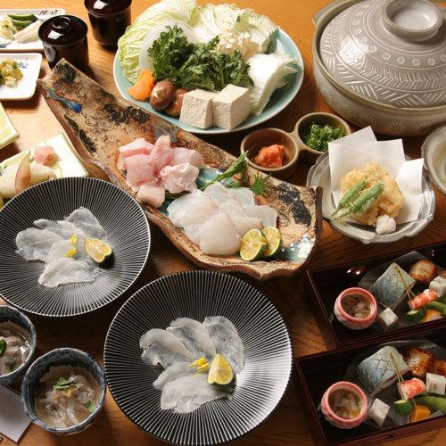 【クエフルコース】幻の魚!上品な脂の旨み「天然の活クエ」に舌鼓