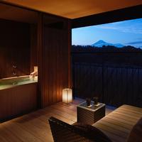 【1泊2食付】〜富士山を望む露天風呂付き湯宿山紫水明「春いぶき」プラン〜