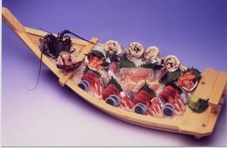 海の幸を食べつくす♪船盛りも金目姿煮も食べたいなプラン