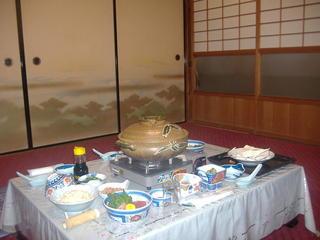 【2食付】名水を使用した、心まで温まる水炊き鍋プラン♪