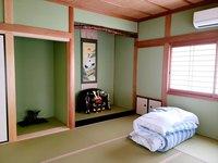 6畳個室Aゲストハウスhiro小雲館大村屋別邸