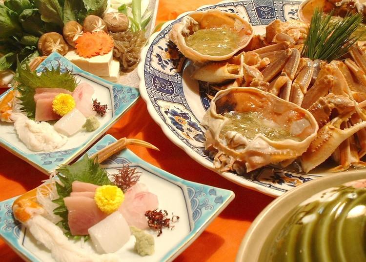 ボリューム控えめ生ズワイガニ1杯をお部屋で食べよう!蟹すきプラン