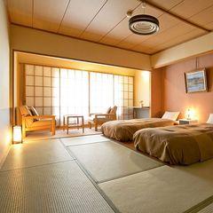 【倶楽部ルーム】■和室10畳+ベッド■バス・トイレ付/禁煙