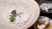 【冬期限定・河豚フルコース】てっ刺やてっちりなど、若狭ふぐをたっぷり使用したフグ料理