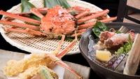 【1kgコース】より美味しい蟹を味わいたい方に。生蟹ひとり1杯&蒸し蟹シェア。タグ付き越前蟹を堪能!
