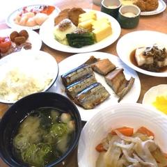 【朝食付プラン】一日のはじまりはしっかり食べて♪