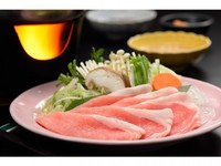 「米沢豚一番育ち」の豚しゃぶプラン