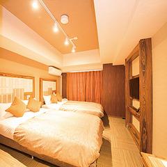 120cm幅ベッド×2台【禁煙】ツインルーム