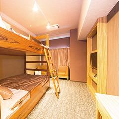 2段ベッド×1台(幅120cm)【喫煙】バンクツインルーム