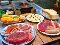 デッカイ肉を豪快に焼く♪本格アメリカンバーベキュー!オーナーは日本BBQ協会公認上級インストラクター