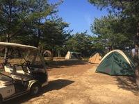 四万十川河口山頂キャンプ場フリーサイト ソロキャン(1人キャンプ)プラン