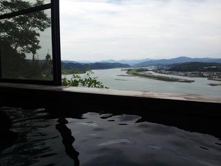 2名〜4名 四万十川河口絶景の秘湯!貸切家族風呂と庭園内にある日本建築の一戸建1棟貸切プラン。