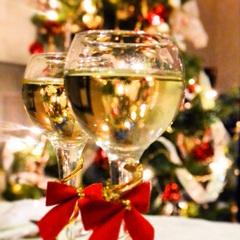 【クリスマスディナー】フォアグラ和牛フィレステーキ♪スパークリングワインで乾杯 Wi-Fi