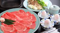 【チョイス】米沢牛ミニステーキ付◆選べる台のもの[しゃぶしゃぶorすき焼き]を選んで贅沢満喫♪